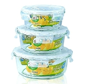 Glass Container 3-Set 6413