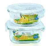 Glass Container 2-Set 6415