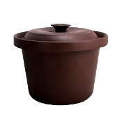 SANYUAN Purple Clay Inner Soup Pot 5.5L/6.5L/8L