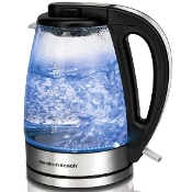 HAMILTON BEACH 1.7L Glass Cordless Kettle 40865C