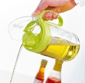 Glass Oil Bottle 450mL 6002