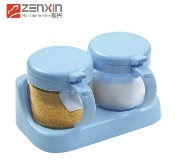 Glass Condiment Container 300mL YH5865