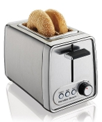 HAMILTON BEACH 2 Slice Modern Chrome Toaster 22791C