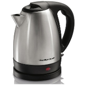 HAMILTON BEACH 1.7L Stainless Steel Cordless Kettle 40882C