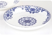 Charming Flower Porcelain Sauce Dish LL102-4""