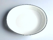 Palace Series Plate Oval A502 9""
