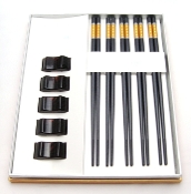 Alloy Chopsticks 5-Set LH-5