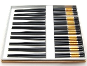 Alloy Chopsticks 10 Pair LH-10