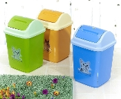 Waste Bin with Cover (M) 1202
