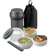ZOJIRUSHI Mr. Bento® Stainless Lunch Jar SL-JAF14-HG
