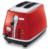 De'Longhi Icona Toaster Red CTO2003R