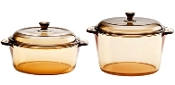 Luminarc Amberline Casserole Set 1.5L+3L