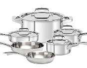 ZWILLING® Truclad 10Pcs Cookware Set 40160-000