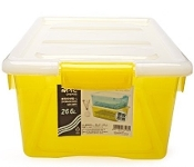 Chahua Storage Box 26.6L 2891 Yellow/Blue